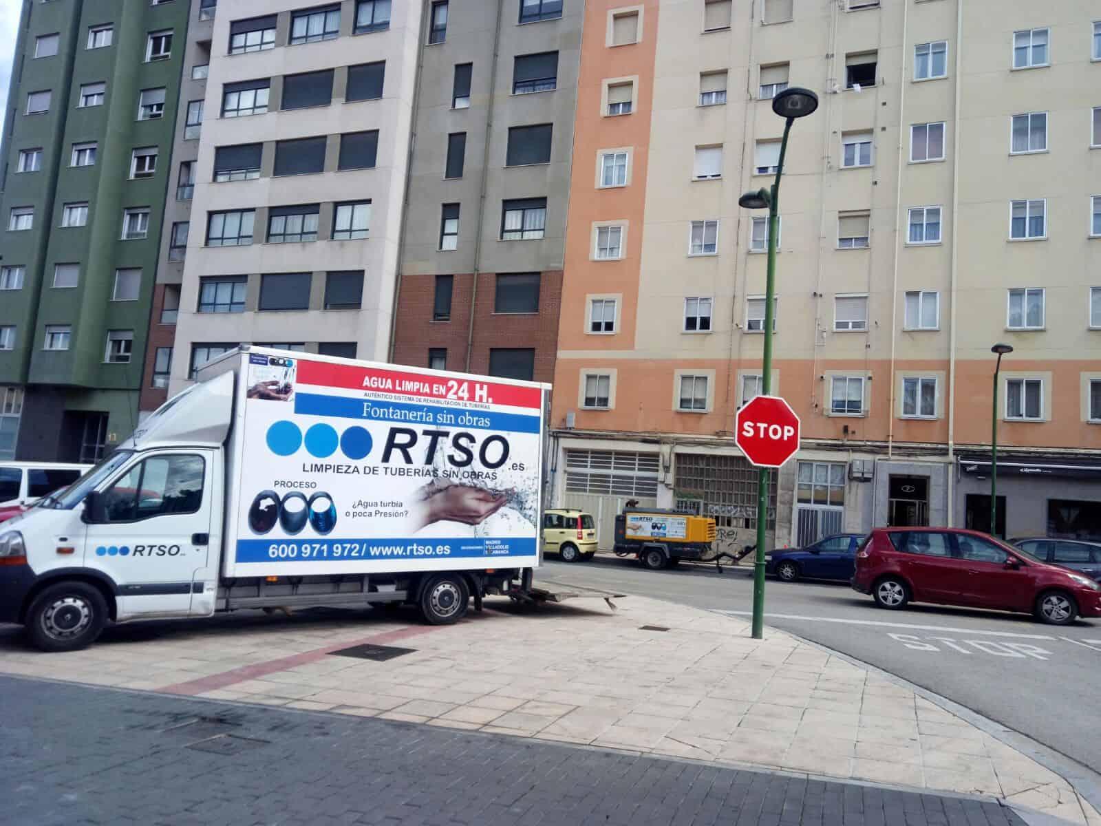 limpieza de tuberias sin obras Burgos Capital