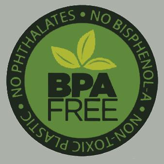 No utiliza Plásticos con Bisfenol-A