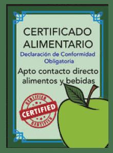Fontanería con Certificados Alimentarios