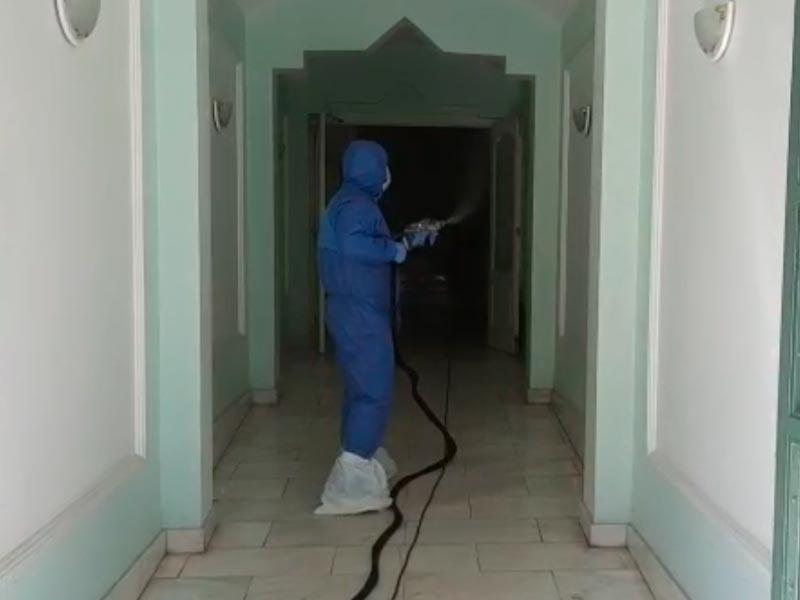 Desinfección de viviendas y zonas comunes